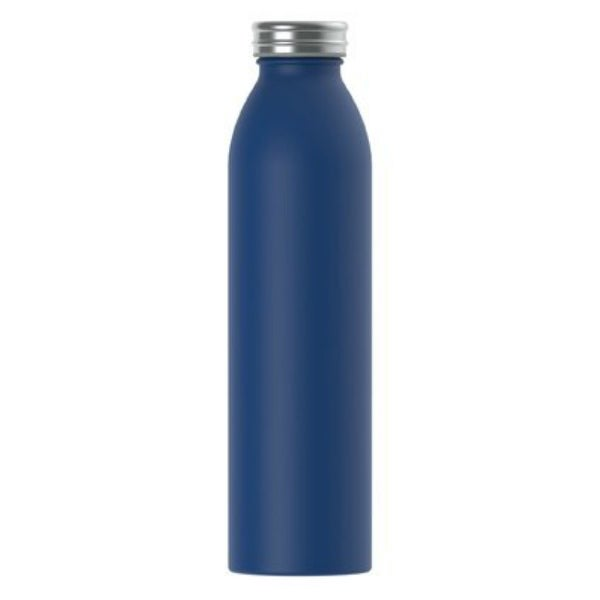 8490ec3a0a Shop Manna 18030-TV Retro Double Wall Vacuum Insulated Bottle, Navy, 20 Oz  - Free Shipping On Orders Over $45 - Overstock - 25455278