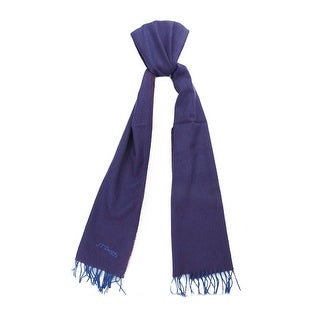 St. Dupont Paris 100WS VP Purple/Plum 100% Cashmere Classic Mens' Scarf
