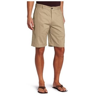 Dockers Mens Bermuda Shorts Twill Flat Front