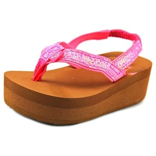 Roxy TW Glitz Open Toe Synthetic Thong Sandal