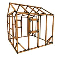 8X8 E-Z Frame Playhouse Kit - 8'x8'