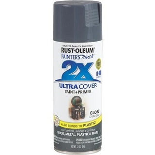 Rust-Oleum Dark Gray Spray Paint 249115 Unit: EACH
