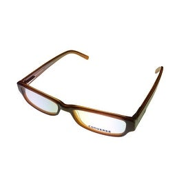 Converse Opthalmic Eyeglass Modified Rectange Plastic, Jump Brown