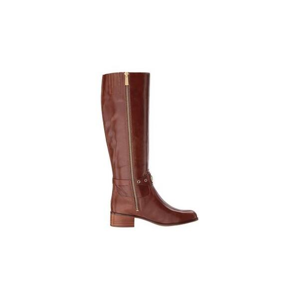 063577828c7 Michael Michael Kors Womens Heather Leather Closed Toe Knee High Riding  Boots