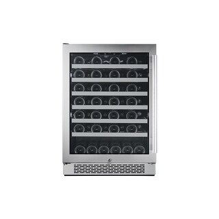 Avallon AWC241SZLH 24 Inch Wide 54 Bottle Capacity Single Zone Wine Cooler with Left Swing Door