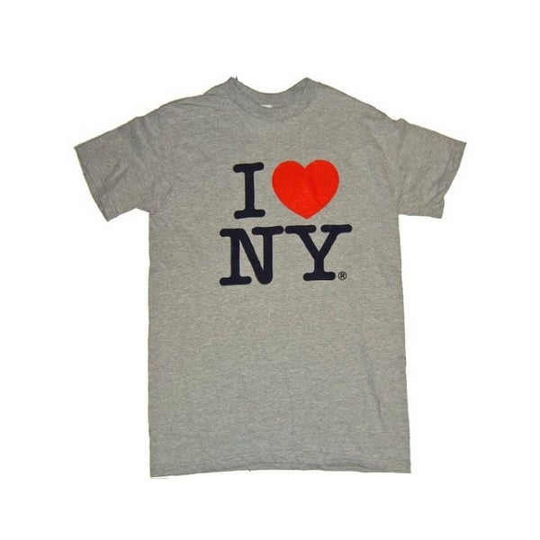 I Love NY T-Shirt - Size: Adult XX-Large - Color: Grey