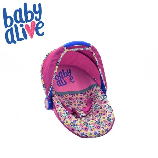Baby Alive Toy Doll Car Seat w/ Canopy