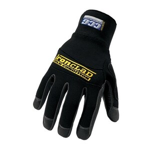 Ironclad CCG2-03-M Cold Condition Gloves, Black, Medium