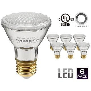 PAR20 LED Light Bulb, 7W (50W Equivalent), 2700K Soft White/5000K Daylight, Spot Light