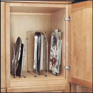 Rev-A-Shelf 597-18-52 597 Series 18 Inch High Wire Tray Divider with Clips