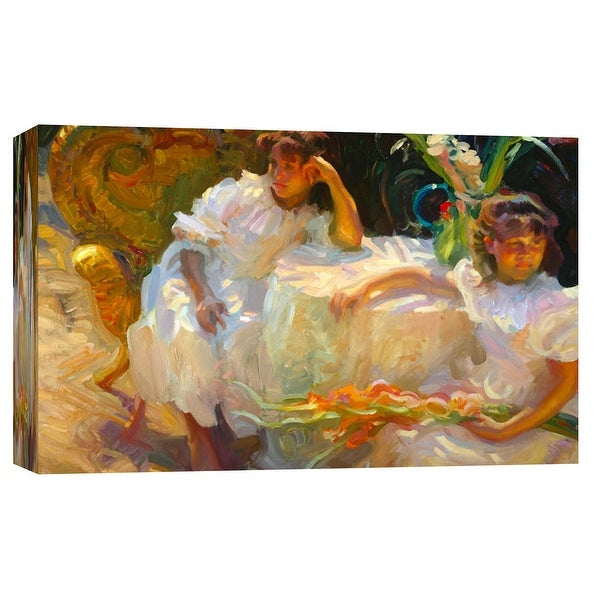 """PTM Images 9-101723 PTM Canvas Collection 8"""" x 10"""" - """"Floral Arrangement"""" Giclee Children Art Print on Canvas"""