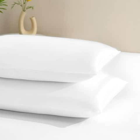 2 Pack Satin Pillowcase Silky Pillow Cases Set