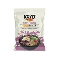 Koyo Ramen - Reduced Sodium Tofu Miso - Case of 12 - 2.1 oz.