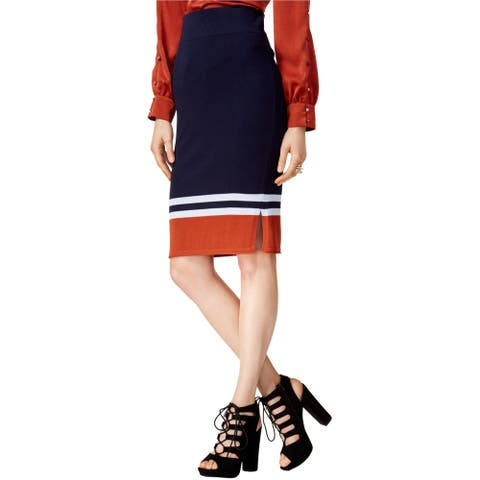 Bar Iii Womens Sweater Pencil Skirt