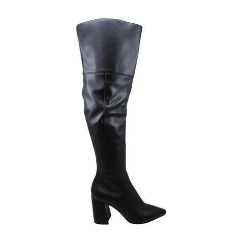 Charles by Charles David Women's Shoes Viceroy Pointed Toe Over Knee Fashion Boots