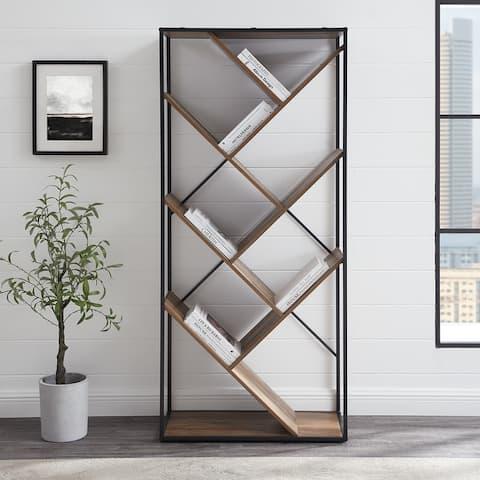 Carbon Loft 68-inch Tall Multi-Angled Bookshelf