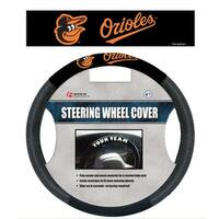 """Fremont Die Inc Baltimore Orioles Poly-Suede Steering Wheel Cover Wheel Cover"""