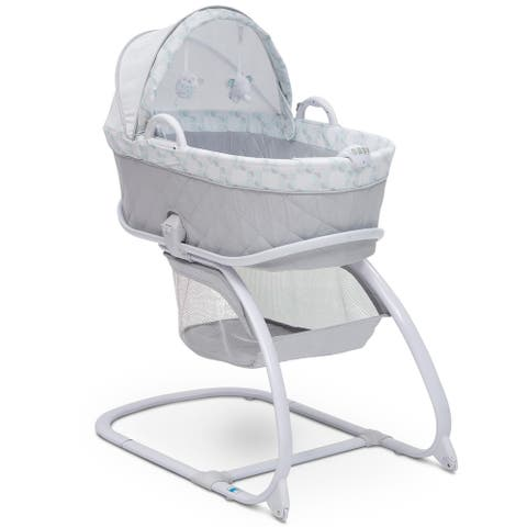 Delta Children Deluxe Moses Bassinet