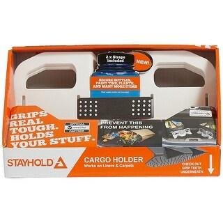 Stayhold(Tm) Sidekick Modular Cargo Organizer Starter Pack-White; 2 Sidekick Organizers & 2 Straps