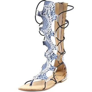Luichiny Crown Me Women Open Toe Synthetic Gladiator Sandal