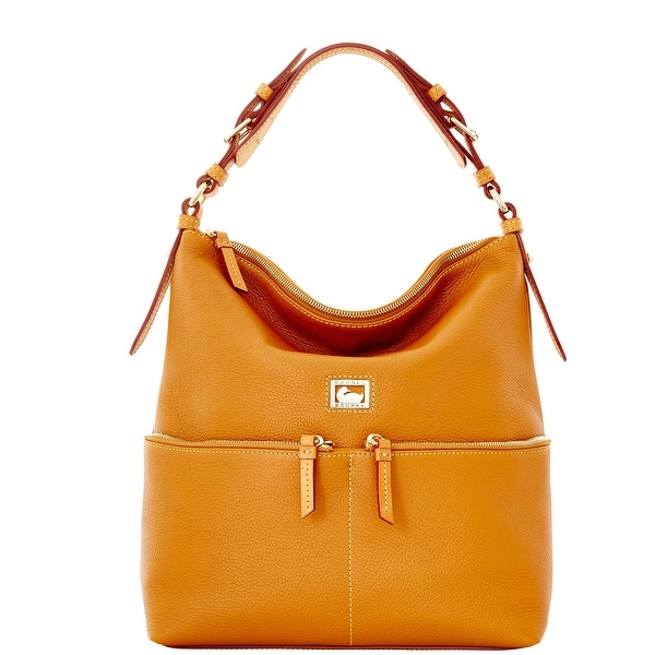Dooney & Bourke Dillen Medium Zipper Pocket Sac (Introduced by Dooney & Bourke at $288 in Sep 2011) - Desert