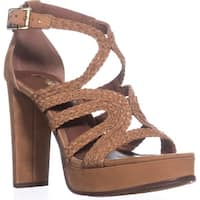 Lauren by Ralph Lauren Aleena Platform Sandals, Polo Tan