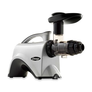 Omega Juicers NC800HDS Nutrition Center HD Juicer, Silver & Black