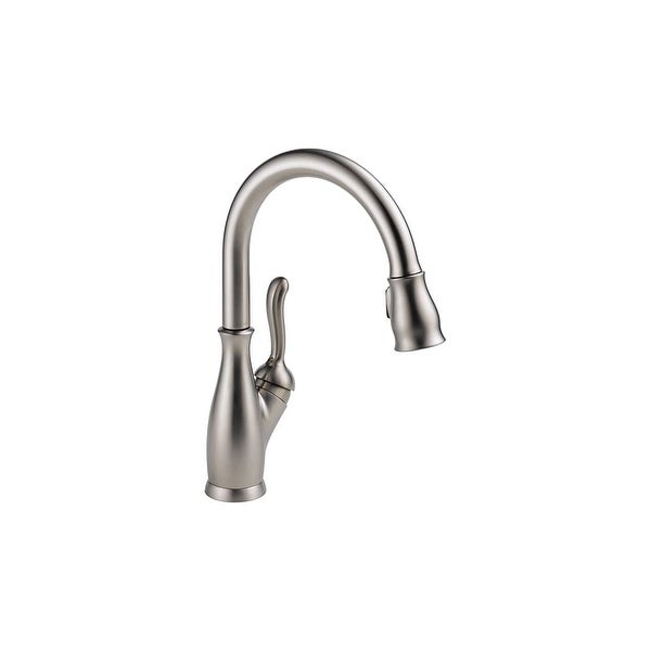 Shop Delta 9178 Dst Leland Pull Down Kitchen Faucet With Magnetic