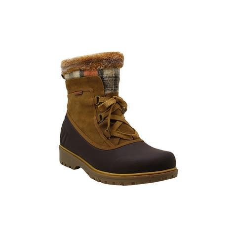 Bare Traps Womens Shai Closed Toe Ankle Cold Weather Boots
