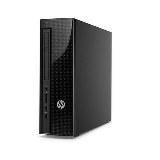 HP Slimline 450-A09 Desktop AMD E1-6015 1.4GHz 4GB DDR3 1TB HDD Windows 10