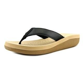 Volatile Cas Open Toe Leather Thong Sandal