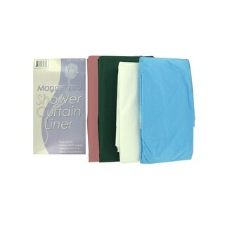Magnetized shower curtain liner - Pack of 24
