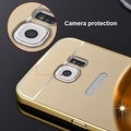 Premium Aluminum Metal Mirror Case With Bumper Snap-On Cover For Samsung Galaxy S7 - Thumbnail 21