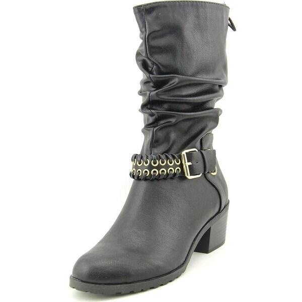 Thalia Sodi Jannice Women  Round Toe Synthetic  Mid Calf Boot