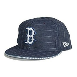 New Era Custom Boston Redsox Cap - Navy