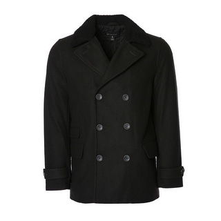 INC International Concepts Men's 3/4 Wool Coat