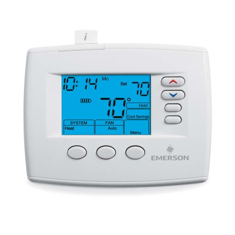 White-Rodgers 1F85-0477 7 Day Programmable Digital Thermostat - classic white - N/A