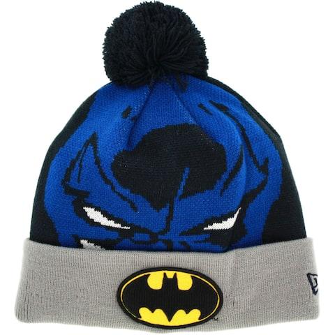 Batman Big Face Woven Biggie Knit Cap - Multi