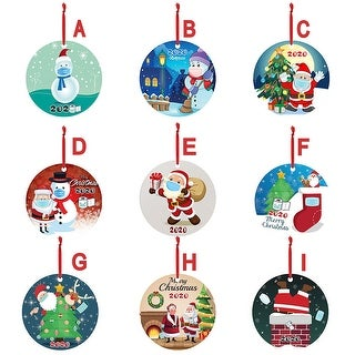 Link to 5pc 2020 Christmas Ornaments Hanging Decoration Gift - 3.93x5.9x1.96 inch Similar Items in Christmas Decorations