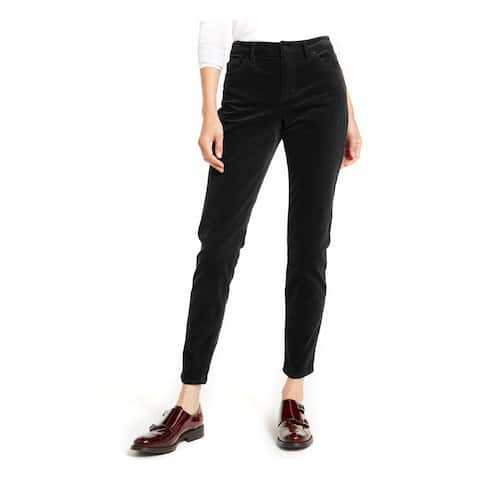 VINCE CAMUTO Womens Black Solid Straight leg Jeans Size 30/10 - 30\10