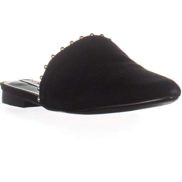 a01454d00cb Shop Steve Madden Womens Trace -B Leather Pointed Toe Slide Flats ...