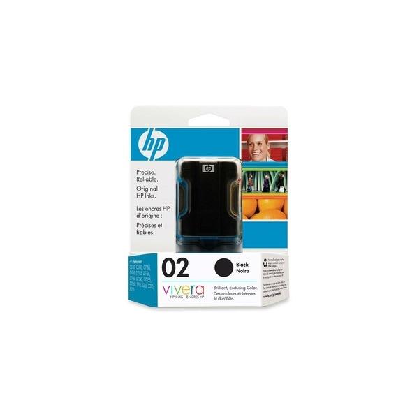 HP 02 Black Original Ink Cartridge (C8721WN) (Single Pack)