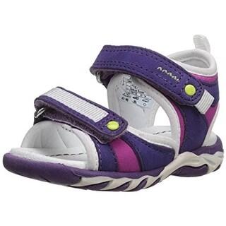 Umi Girls Vela Toddler Leather Sport Sandals