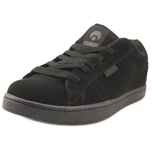 Osiris Loot Men Round Toe Synthetic Black Skate Shoe