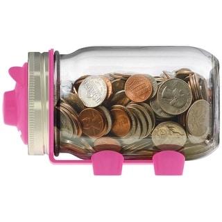 Jarware 82600 Piggy Bank Decorative Jar Lid, Regular Mouth