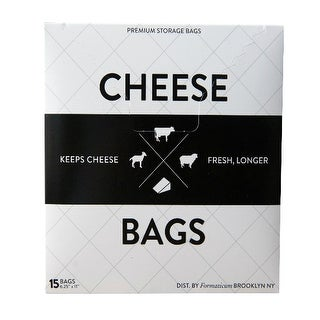 Formaticum 9868 Cheese Storage Bags, 15 Count
