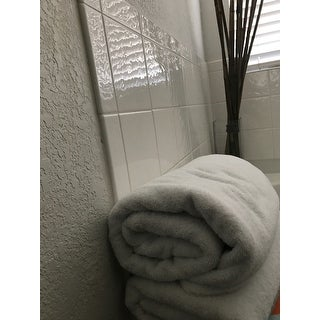 Classic Turkish Cotton Towel Arsenal Oversized Bath Sheet Set of 2