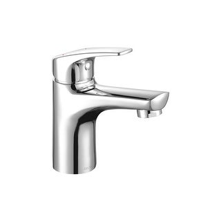 Delta 534LF-PP  Modern 1.2 GPM Single Hole Bathroom Sink Faucet with 50/50 Pop-up Drain - Chrome