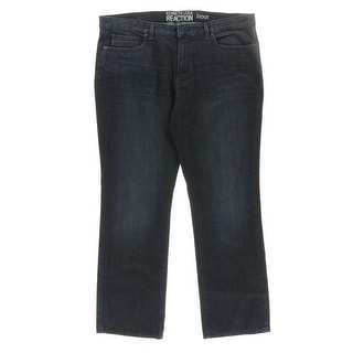 Kenneth Cole Reaction Mens Low Rise Flare Boot Cut Jeans