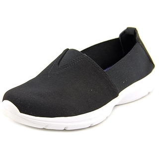 Easy Spirit e360 Quirky Women W Round Toe Canvas Black Loafer